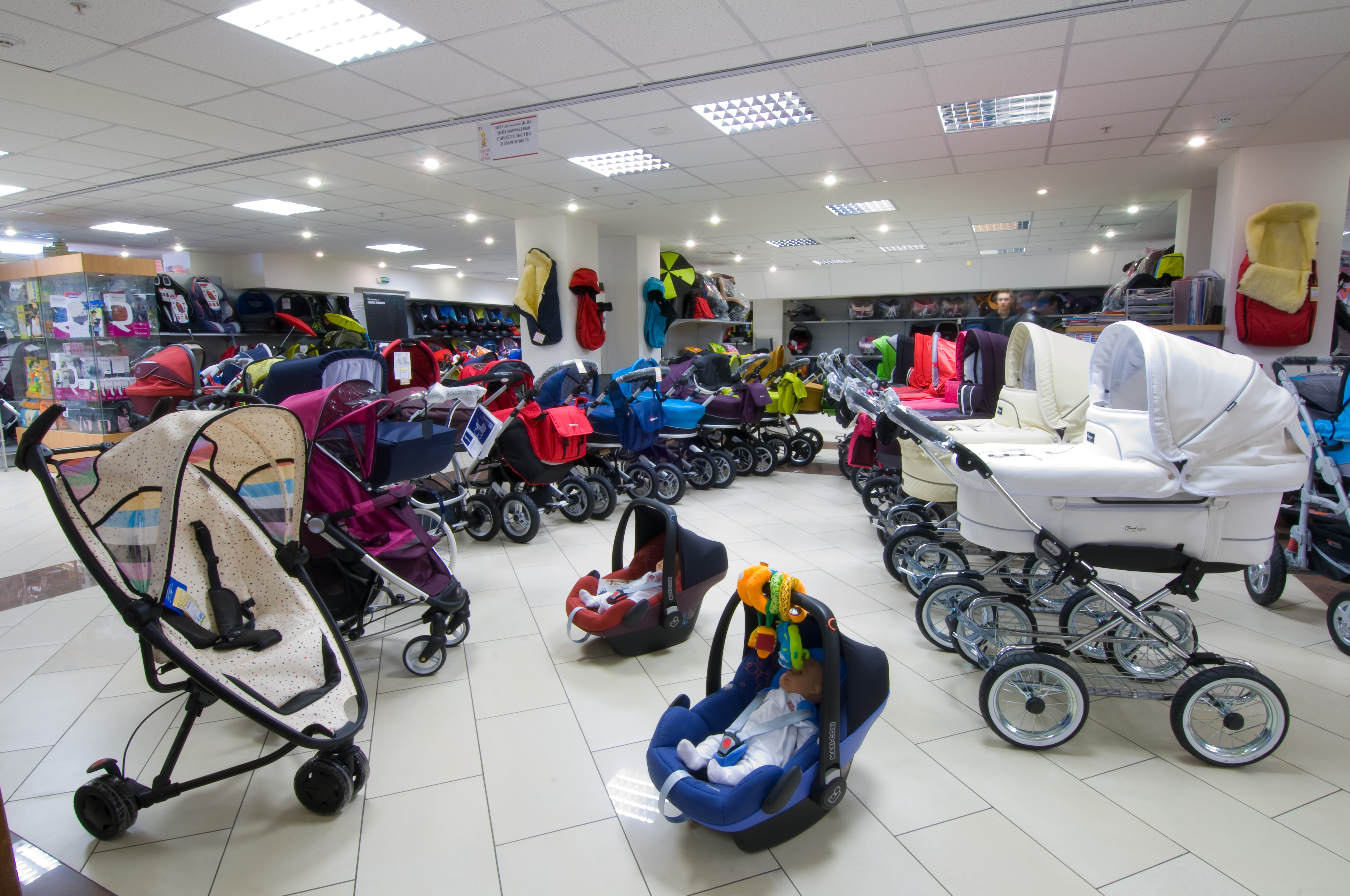 Вы ожидаете пополнение семьи? Покупайте коляски в интернет магазине!