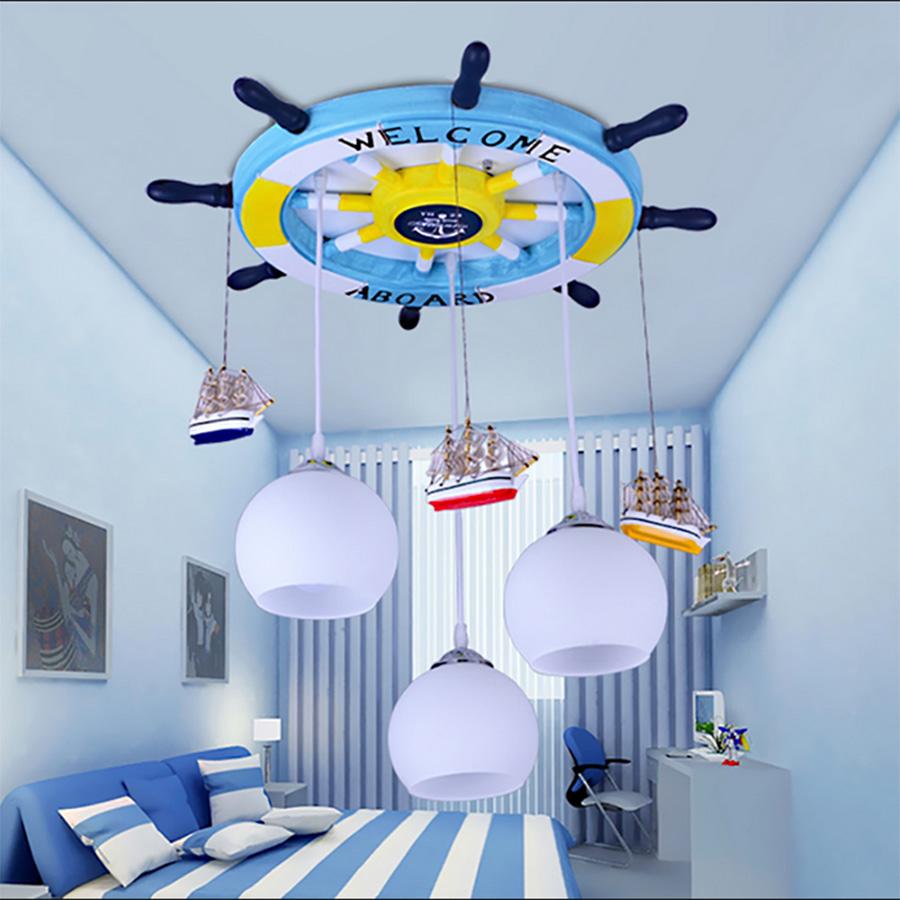 Люстры для прекрасного интерьера детской комнаты